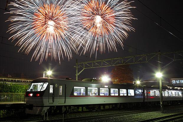 Fireworks at the Chichibu Night Festival