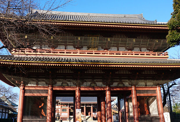 Ikegami Honmonji Temple (Ikegami Station)
