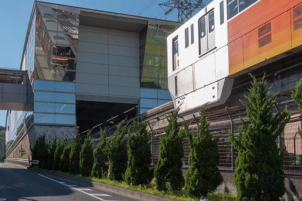 Toward Chuo-Daigaku/Meisei-Daigaku Station