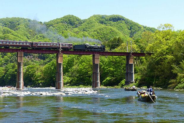 离东京都心最近的蒸汽火车