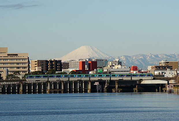 富士山與10000型