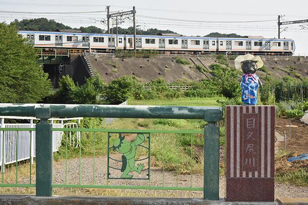 รถไฟขบวน ชุด 8000 ในฤดูร้อน